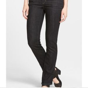 Eileen Fisher High Waisted Black Jeans